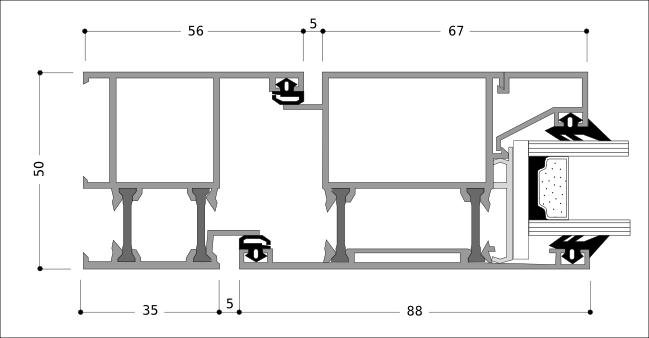Profile aluminiowe do okien